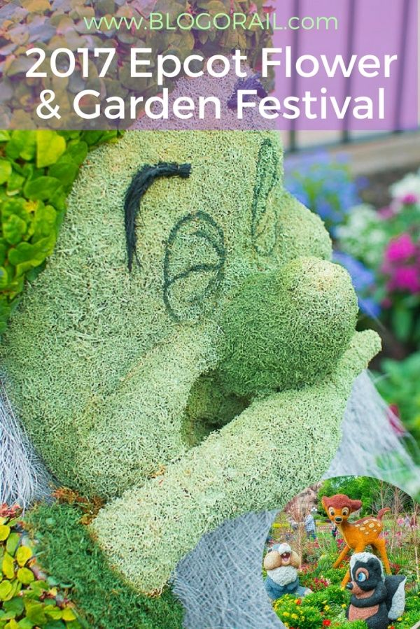 Epcot in Spring | 2017 Epcot Flower & Garden Festival