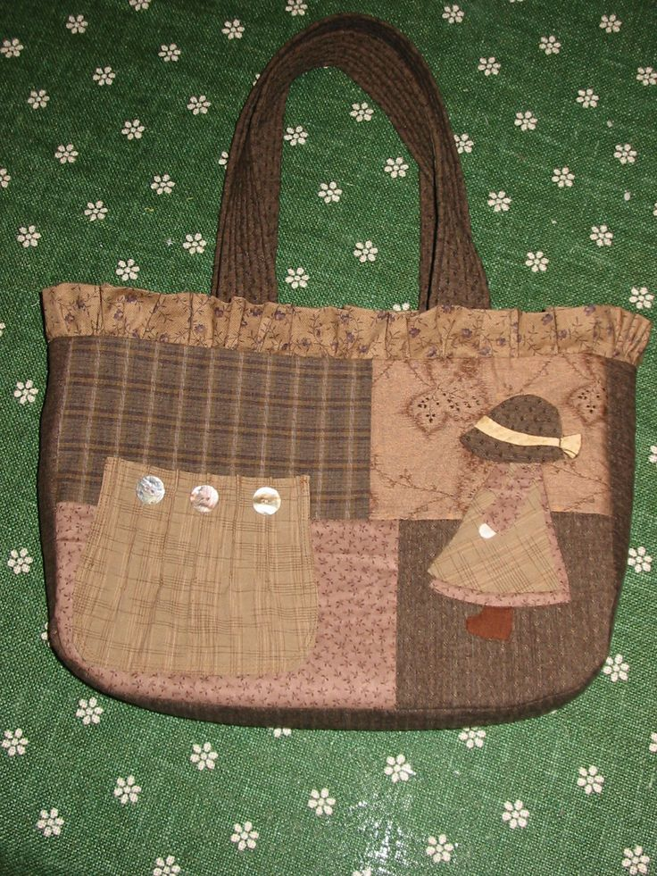 Sunbonnet Sue bag #fabricbag