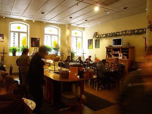 Essi recommends: The reborn veggie heaven Silvoplee at Toinen Linja 7. http://www.silvoplee.com/