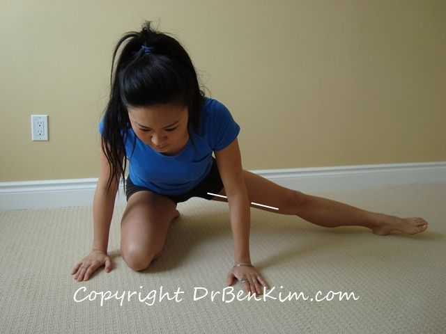 Yes, even women can pull a groin muscle. These are great stretches to do when that happens.