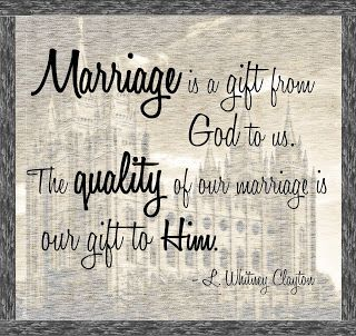 Marriage is a gift from God