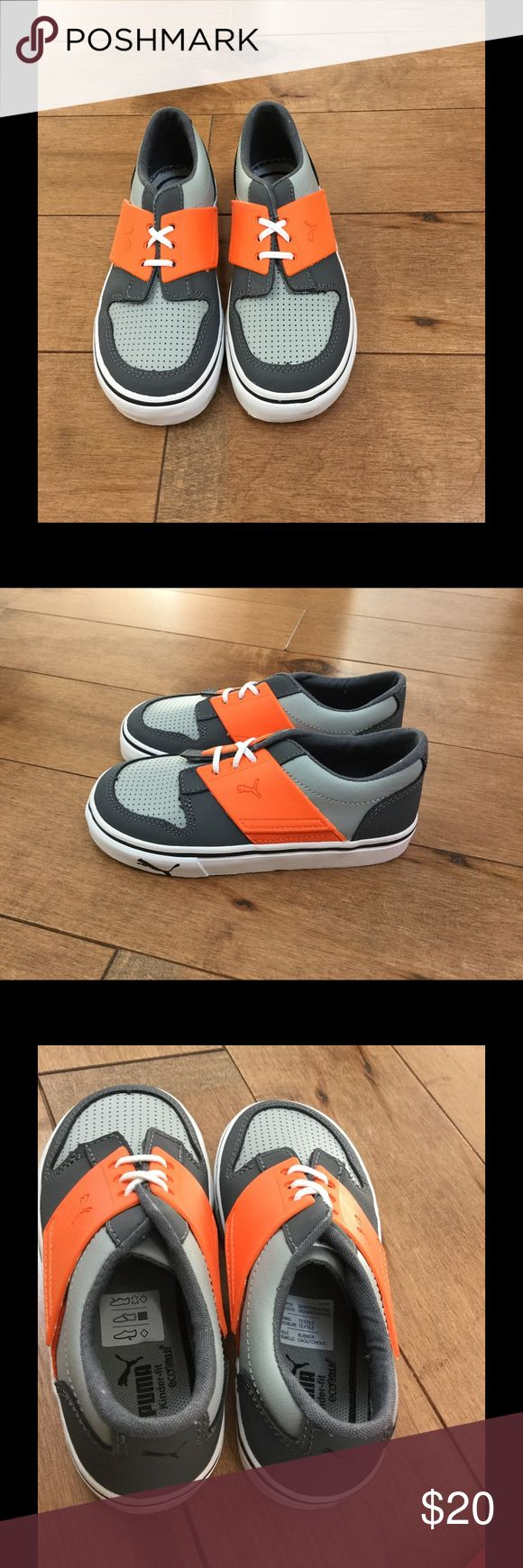 NWT Puma El Ace boys shoes/sneakers Brand new size 10T boys Puma shoes. Comes with original box and packaging. Puma Shoes Sneakers