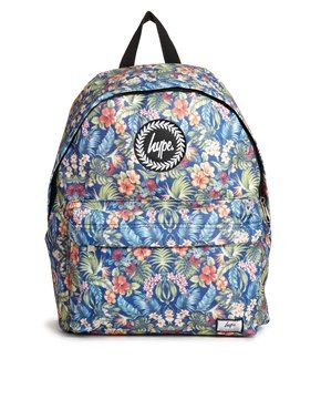 Image 1 ofHype Floral Backpack