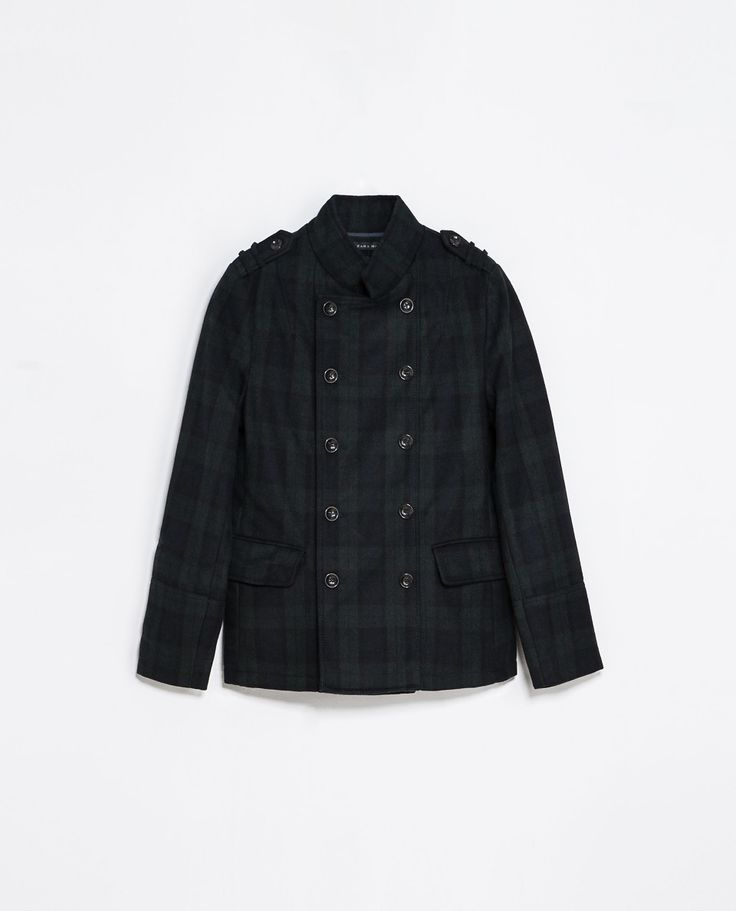 Zara CHECKED WOOL THREE QUARTER LENGTH COAT  Ref. 5475/358  159.00 CAD               OUTER SHELL  73% WOOL, 25% POLYESTER, 2% ACRYLIC  LINING  BODY LINING: 100% NYLON  SLEEVE LINING: 100% POLYESTER