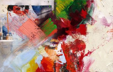Advertisement 2011 (Oil and Digital Prints on Canvas)