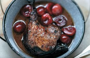 French Tonight: Braised Duck With Cherries