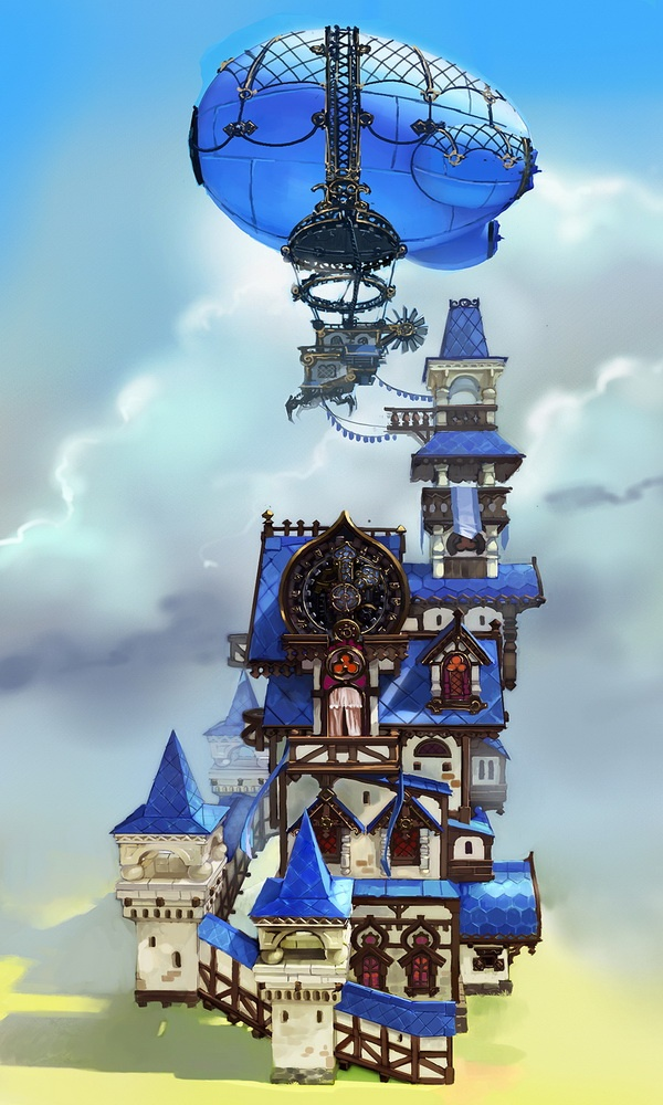 Castle concept by Anton Inshakov
