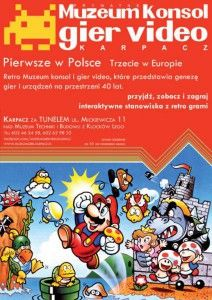 Muzeum konsol i gier video w Karpaczu