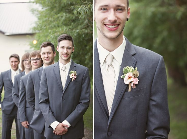 Gray + Tan  Chicks That Click » Edmonton Wedding Photographer