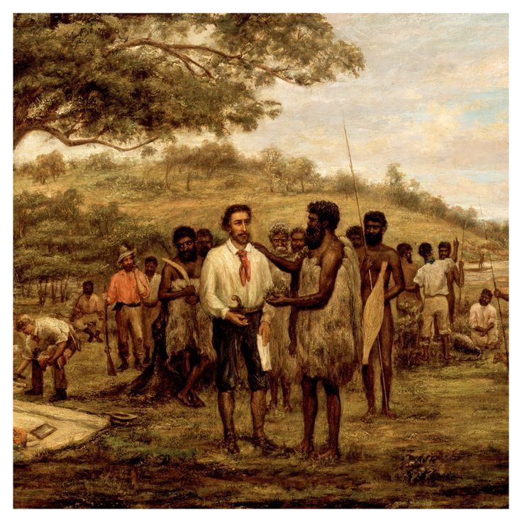 John Wesley Burtt 'Batmans Treaty with the Aborigines of Merri Creek'