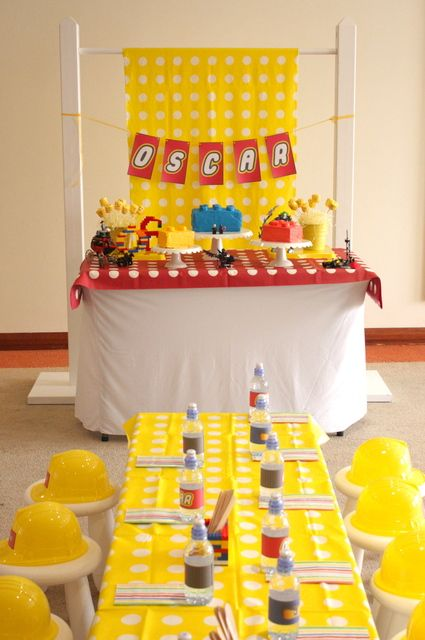 """Photo 1 of 11: Lego / Birthday """"Lego Construction Party""""   Catch My Party"""