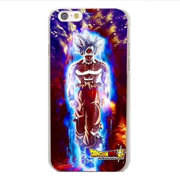 DBZ Goku White Super Saiyan Ultra Instinct iPhone 4 5 6 7 8 Plus X ...