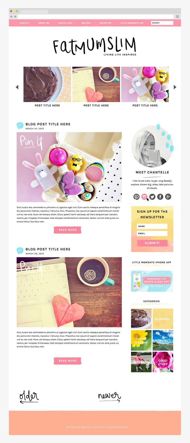 75 best Design || Web images on Pinterest | Page layout, Design web ...