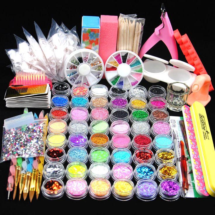 24 best UV Gel Nail Art Kit images on Pinterest | Gel nail, Gel nail ...