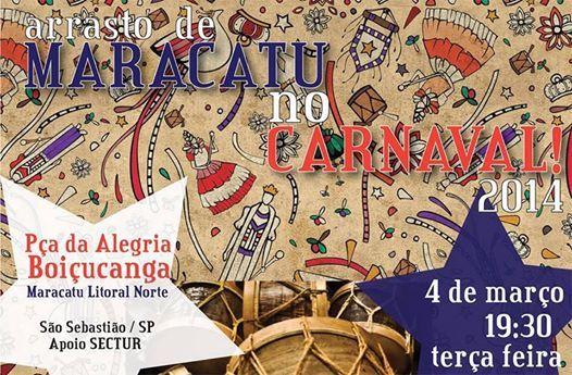 Maracatu / Praia de Boiçucanga / Terça de carnaval / Vem curtir o carnaval / São Sebastião - Bonita o tempo todo!