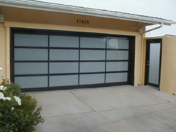 17 best ideas about glass garage door cost on pinterest for Garage side door and frame