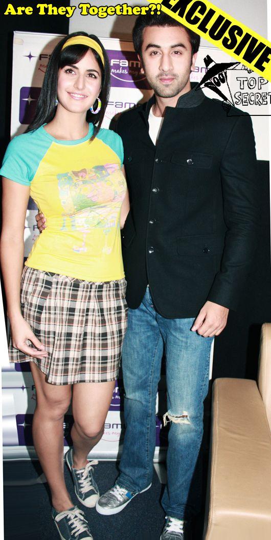 Katrina Kaif and Ranbir Kapoor