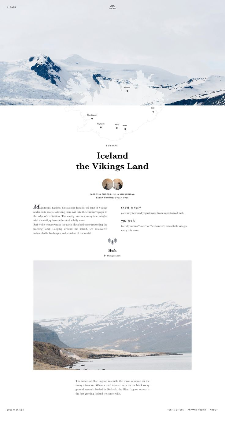 Journal iceland