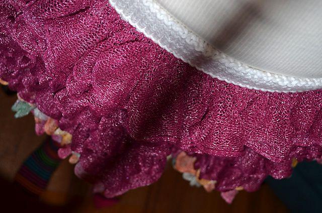 Ravelry: knitravelme's Revel Ruffle Skirt in Berry Blast