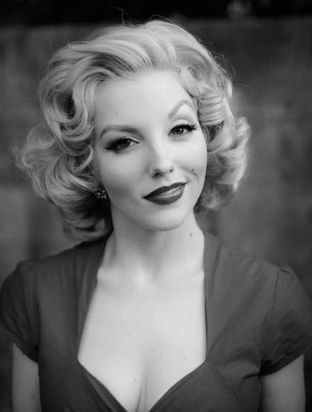 pin up Hair and make up, rocking the top.                                                                                                                                                                                 More