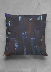 shattered blue pillow: What a beautiful product!