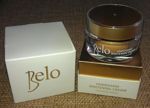 Belo Underarm Whitening Cream Initial Review