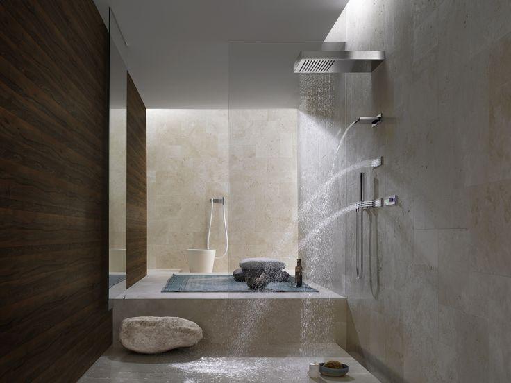 Feel The Flow Of Luxury Hit Your Body In The Bathroom Designtofeelgreat
