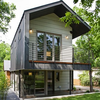 Steel frame house design ideas my future tiny home or for Modern house exterior remodel