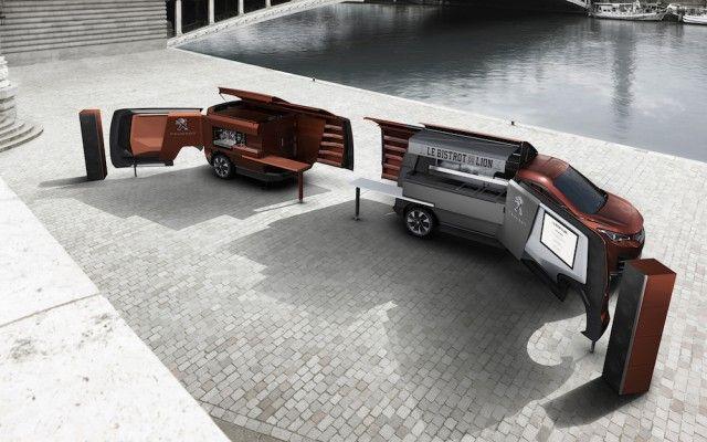 The Peugeot Food Truck – Fubiz™