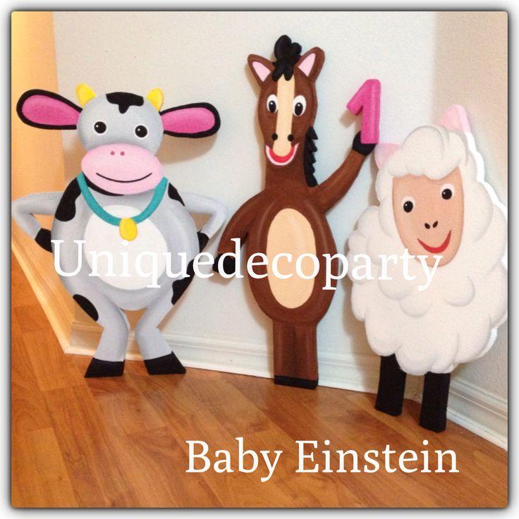 17 best images about kids birthday on pinterest for Baby einstein decoration