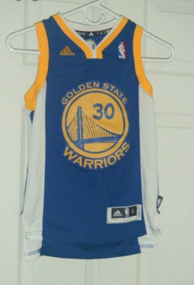 d0c164a1c Stephen Curry Golden State Warriors Adidas NBA Swingman Jersey Kids Small  Used  adidas  GoldenStateWarriors
