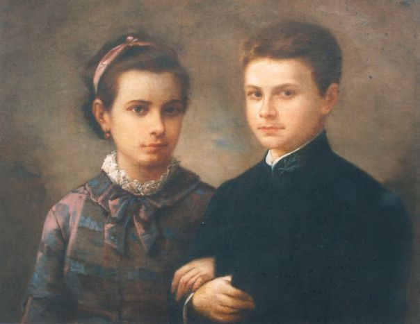 Gheorghe Tăttărescu - Copiii pictorului