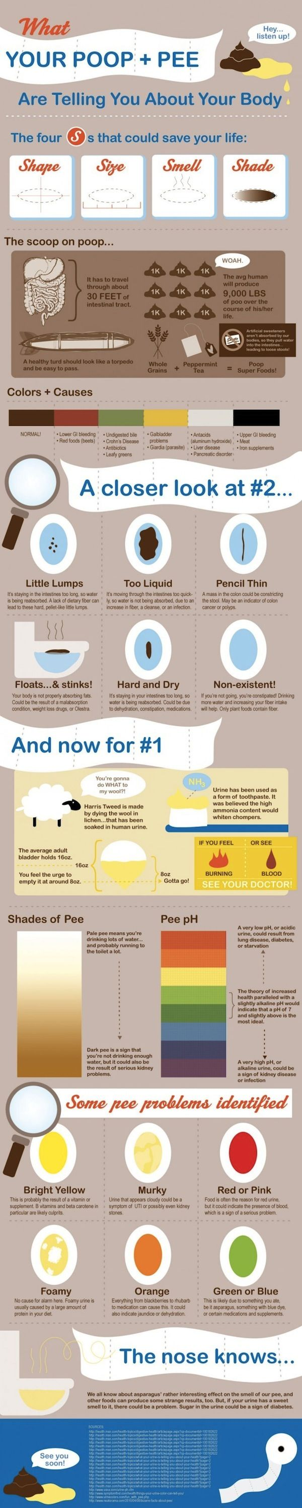 Infographic: What Your Poop Is Telling You - DesignTAXI.com - this is cool! I'll have it in my consultation room one day, and give it to all the moms and dads.