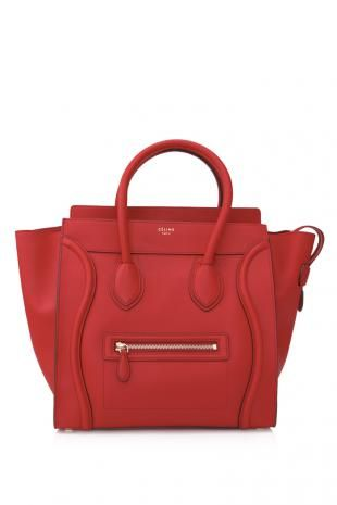 Céline Mini Luggage Shopper  HK$17,943