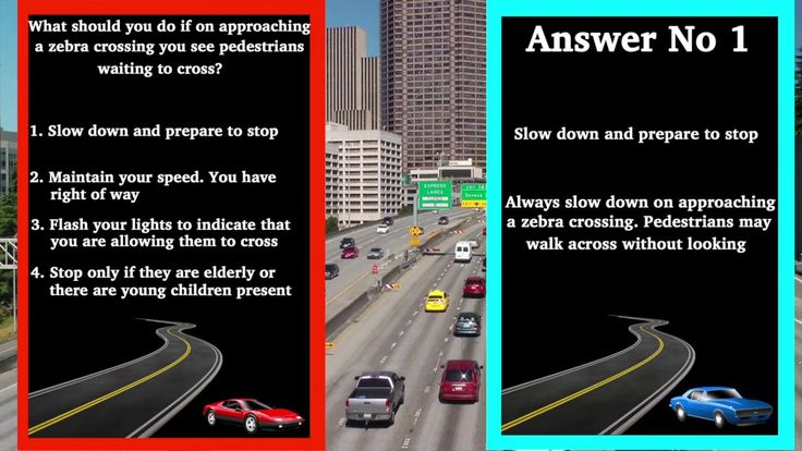 UK Theory Test: Learn how to pass your driving test #uktheorytest #theorytest This video give you insight into what questions you can expect to get in your UK theory test exam #drivingtest (No 14) #trafficsigns This video is part of a series that aim to help you learn your highway code and pass your theory test. #roadmarkings A video for driving theory revision and road signs test. #roadsignsuk Questions from the theory test UK 2017 #roadsigns