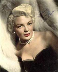 Sheree North, was an American film and television actress, dancer, and occasional singer. (How to Be Very, Very Popular, The Lieutenant Wore Skirts)  1932-2005