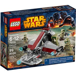 LEGO Star Wars Kashyyyk Troopers Play Set