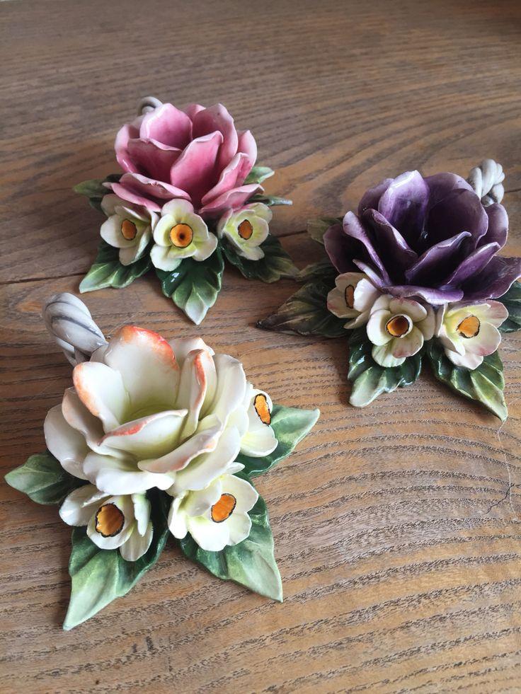 학생작품!!  Ceramic rose
