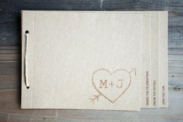 Simple but pretty invitations.