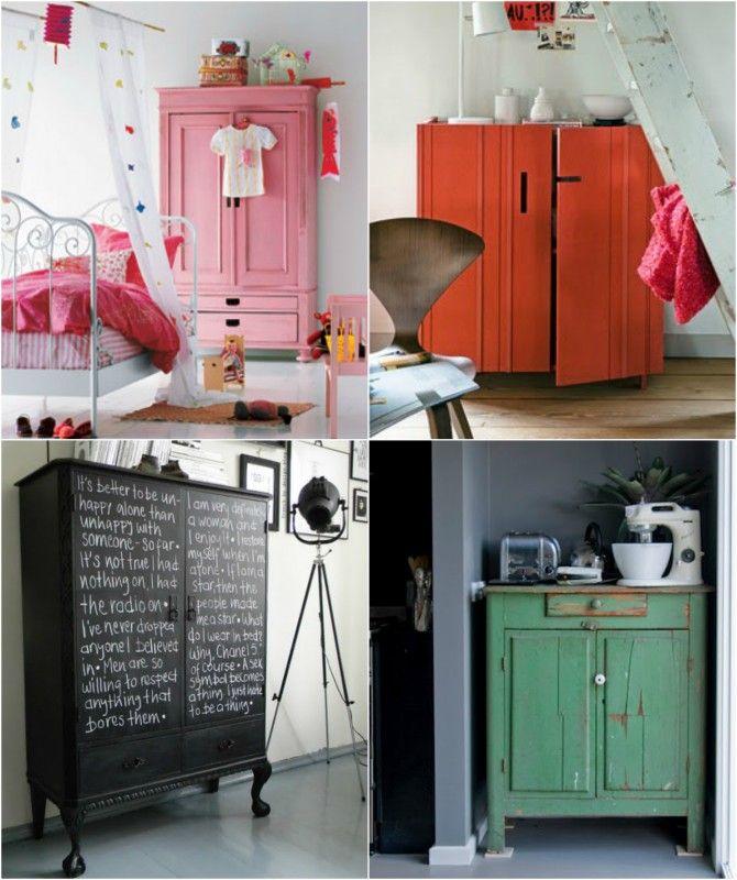 muebles reciclados pintura envejecida - Buscar con Google