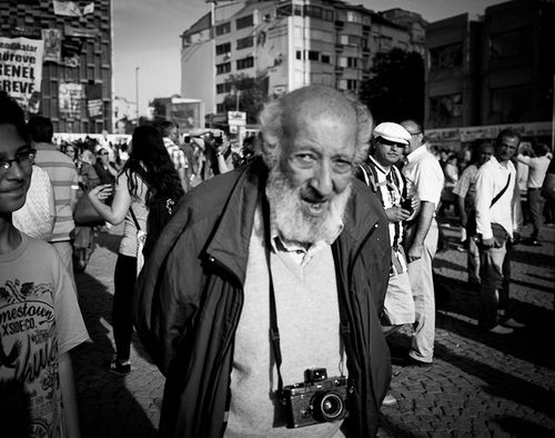 "Ara Guler "" the Eye of Istanbul"" - Magnum Photos - Taksim Square, Gezi Parki - Istanbul Juni 2013"