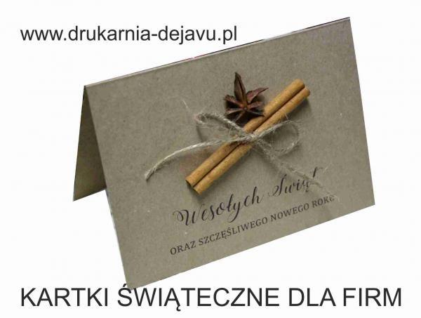 k/1025 biznesowe kartki świąteczne ekologiczne pachnąca 2,5 zł - Galera realizacji