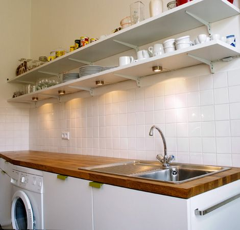 Küche Spülenseite