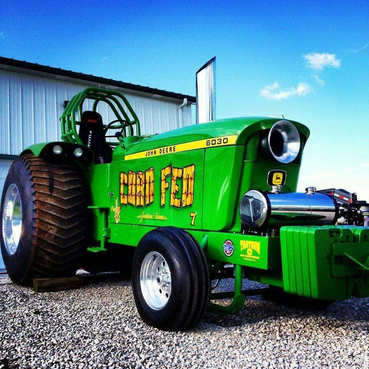 JOHN DEERE 6030 CORN FED