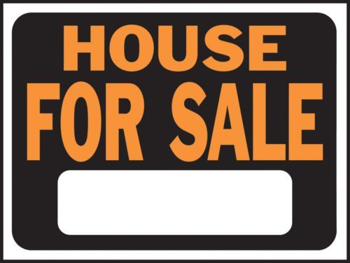 Trail Markers and Signs 177889: Hy-Ko 3004 9 X 12 Plastic House For Sale Sign - Pk 10 -> BUY IT NOW ONLY: $55.67 on eBay!