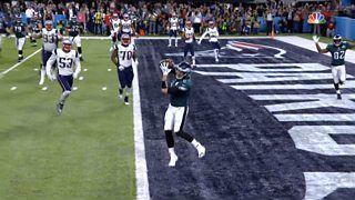 Super Bowl LII: Nick Foles scores breathtaking touchdown for Philadelphia Eagles - BBC Sport