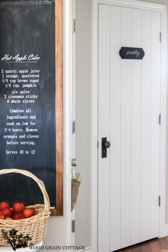 Adding Character with a Vintage Door Knob - Farmhouse style- The Wood Grain Cottage