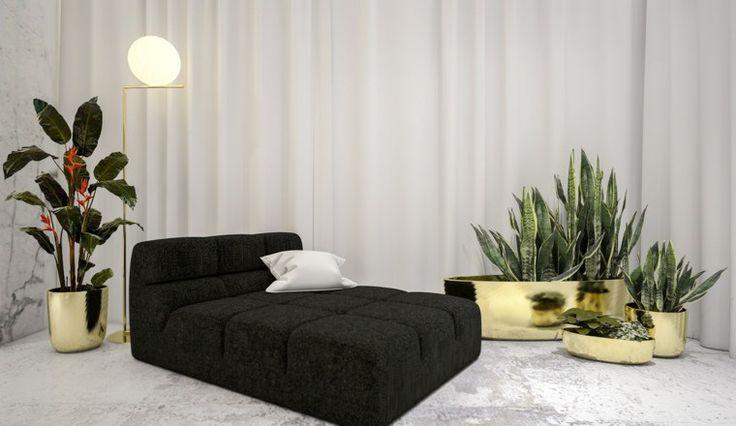Weißes Farbschema funktionaler minimalistischer Umgebungen