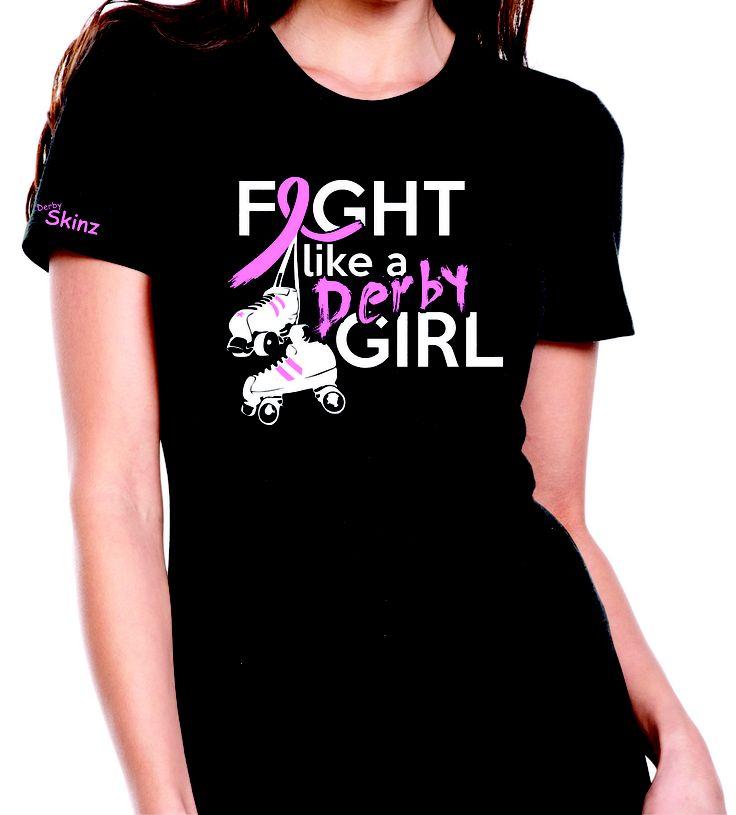 DerbySkinz Tees - Fight Like a Derby Girl T-shirt. - $17.00