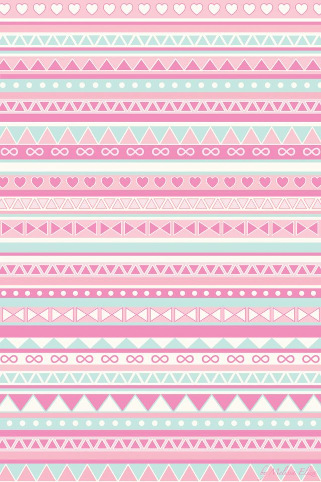 A Girly Background Thats Like Cross Between Tribal Pattern And Everything Pink Purple
